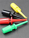 Логика тест анализатор клип - черный -красно - зеленый -желтый (5 шт)