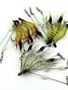 10 штук Мягкие приманки Случайный цвет 7g г/1/4 Унция mm дюймовый,Мягкие пластиковые Ужение на спиннинг