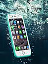 Pour iPhone X iPhone 8 iPhone 8 Plus iPhone 6 Plus Etuis coque Coque Arriere Coque Flexible PUT pour iPhone X iPhone 8 Plus iPhone 8