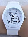 Children's Cartoon Baymax Pattern colorful Silicone Band Quartz Analog Wrist Watch Cool Watches Unique Watches