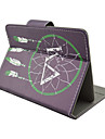 Net Pattern High Quality PU Leather with Stand Case for 7 Inch Universal Tablet