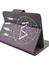 net padrao de alta qualidade de couro pu com suporte para o caso tablet de 7 polegadas universal