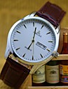 L.WEST Men\'s Waterproof Calendar Quartz Pointer Watch Wrist Watch Cool Watch Unique Watch