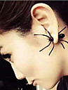 HUALUO®Korean Style Fashion Punk Spider Around Earrings