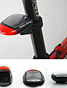 Solar Power Bike Bicycle LED Cycling Tail Rear Red Light Lamp Taillight With Clamp