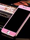 superficie cheia tela 3D em torno de filme de vidro de aco para iphone 6 / 6s (cores sortidas)