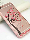Under A Cherry Tree Full of Acrylic Transparent Wrapping Soft Cases for iPhone 7 7 Plus 6s 6 Plus SE 5s 5