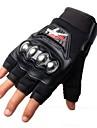 Мотоцикл перчатки Короткий палец Полиуретан / Нейлон / Лайкра M / L / XL Черный