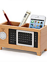 The Wooden Box Calendar Pen Storage Cabinet Desk Box Finishing Cabinet