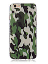 For iPhone 5 Case Pattern Case Back Cover Case Camouflage Color Soft TPU iPhone SE/5s/5