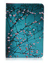 Plum Pattern PU Leather Full Body Case With Stand for iPad Mini 3/2/1