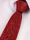 Cravate Retro Soiree Travail Decontracte Polyester,Homme Imprime Toutes les Saisons