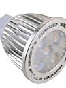 7W GU5.3(MR16) Точечное LED освещение MR16 5 SMD 630 lm Тёплый белый / Холодный белый Декоративная AC 85-265 / AC 12 V 1 шт.