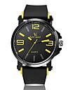 V6® Men's Fashion Design Rubber Strap Quartz Casual Watch Cool Watch Unique Watch