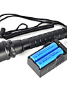LT  2 Mode 6000 Lumens LED Flashlights 18650  LED Cree XM-L2