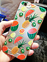 For iPhone 6 Case / iPhone 6 Plus Case Transparent / Pattern Case Back Cover Case Fruit Soft TPU iPhone 6s Plus/6 Plus / iPhone 6s/6