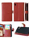 cuir PU + TPU capot arriere portefeuille detenteurs de cartes d\'argent comptant fente + + cadre photo cas de telephone magnetique pour
