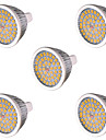 10W GU5.3(MR16) Spot LED MR16 48 SMD 2835 810 lm Blanc Chaud / Blanc Froid Decorative AC 85-265 / AC 12 V 5 pieces