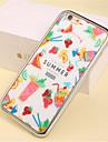 용 아이폰5케이스 도금 / 패턴 케이스 뒷면 커버 케이스 카툰 소프트 TPU iPhone SE/5s/5