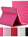 cuir design de la couronne originale de haute qualite Flip intelligente pour Apple iPad 4/3/2 couverture arriere cas logements