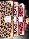 Pour Samsung Galaxy Coque Portefeuille Porte Carte Strass Avec Support Clapet Coque Coque Integrale Coque Motif Leopard Cuir PU pour