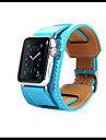 Watch Band for Apple Watch 38mmm 42mm Leather Replacement Stap Wristband With Adapter