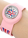 Kids UK Pattern Stretch Band Mini Quartz Watch Cool Watches Unique Watches