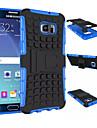 Pour Samsung Galaxy Coque Antichoc Avec Support Coque Coque Arriere Coque Armure Polycarbonate pour SamsungS6 edge plus S6 edge S6 S5