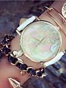 Fashion Women\'S Watches Map Bracelets Analog Quartz Watches Mens Watches (Assorted Colors)