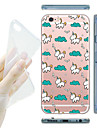 MAYCARI® Unicorn\'s Happy Life Soft Transparent TPU Back Case for iPhone 6s 6 Plus
