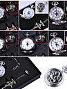 Clock/Watch Inspired by Fullmetal Alchemist Edward Elric Anime Cosplay Accessories Necklace / Clock/Watch / Ring Black / Silver Alloy Male