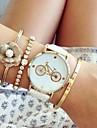 Fashion Women\'S Watches Bicycle Bracelets Analog Quartz Watches (Assorted Colors)