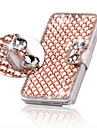 Luxury Bling Crystal Diamond Leather Flip Bag Cover For Samsung Galaxy S3/S4/S5/S6/S6 Edge/S6 Edge Plus S8 PLUS S8