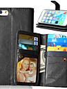 Para iPhone X iPhone 8 iPhone 6 iPhone 6 Plus Case Tampa Carteira Porta-Cartao Com Suporte Flip Magnetica Corpo Inteiro Capinha Cor Solida