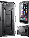 Outdoor Sports Compatibility is Three Proofings Waist Clip PC+Silicone Case for iPhone 7 7 Plus 6s 6 Plus
