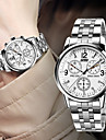 Hot Classic Men\'s Fashion Business Waterproof Steel Table Wrist Watch Cool Watch Unique Watch