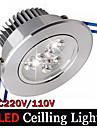 3W Декоративное освещение 3 Высокомощный LED 300 lm Тёплый белый / Холодный белый Регулируемая / Декоративная AC 100-240 V 1 шт.
