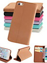Pashm PU Leather Full Body Case with Stand and Card Slot for iPhone 5/5S (Assorted Colors)