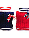 Dog Sweater / Clothes/Clothing Red / Blue Winter Nautical