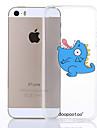 motif de dinosaure dpt® tpu couverture souple pour iPhone 5 / 5s