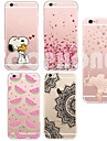 MAYCARI®Elephant Soft Transparent TPU Back Case for iPhone 5/5S(Assorted Colors)