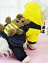 Koirat Takit / Hupparit Punainen / Keltainen Talvi / 봄/Syksy Eläin Muoti / Pidä Lämmin