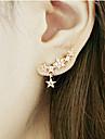 Women\'s Drop Earrings Personalized Costume Jewelry Alloy Star Jewelry For