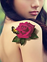 Series de Joias / Series Flores / Series Totem / Outros - BR - Tatuagem Adesiva -Non Toxic / Estampado / Tamanho Grande / Purpurina /