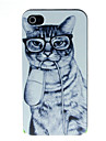 muis en kat patroon harde case voor iPhone 4 / 4s