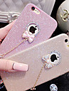 Glitter Bow Pendant TPU Material Phone Case for iPhone 6s 6 Plus