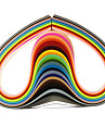120PCS 5MMx53CM Quilling Paper(24 Color x5 PCS/Color) DIY Craft Art Decoration