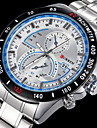 Men's Aviator Style Dress Watch Japanese Quartz Stainless Steel Strap Cool Watch Unique Watch Fashion Watch
