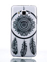 Pour Samsung Galaxy Coque Transparente Coque Coque Arriere Coque Attrapeur de reves PUT pour Samsung Grand Prime Core Prime