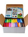 24 PC / sistema de bricolaje warna-Warni konyol dempul plastisin Anak Untuk fimo polimer LIAT tanah